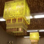 Haasch PCB Yellow Chandelier