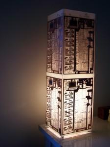 Std PCB Lamp Dimensions 480 x 145 x 145