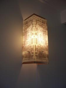White PCB Wall Lamp