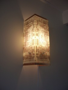 White PCB Wall Lamp